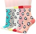 5 Pairs Wish Island Women's Cotton Crew Socks for $10 + free shipping w/ Prime