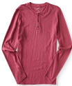 Aeropostale Men's Long Sleeve Henley Shirt for $11 + free shipping