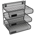 Rolodex Mesh Collection 3-Tier Desk Shelf for $9 + free shipping w/ Prime