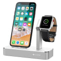 iVapo iPhone and Apple Watch Charging Stand for $14 + free shipping