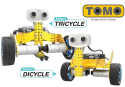 Tenergy Tomo 2-in-1 Programmable Robot Kit for $70 + free shipping