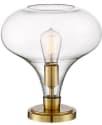 "Possini Euro Becca 12"" Glass Table Lamp for $60 + free shipping"