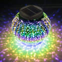 Hallomall Solar RGB LED Table Light for $13 + free shipping w/ Prime
