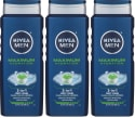 Nivea Men's 3-in-1 Body Wash 17-oz. 3-Pack for $6 + free shipping