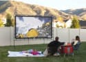 """Camp Chef 144"""" Outdoor Projection Screen for $137 + free shipping"""
