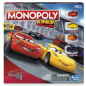 Disney Cars 3 Monopoly Junior Board Game for $14 + free shipping w/ Prime