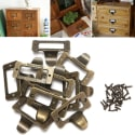 10 Brass File Label Tags for $6 + free shipping