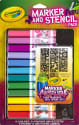 Crayola Marker and Stencil Pack for $4 + pickup at Walmart