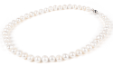 9mm White Freshwater Pearl Necklace for $15 + free shipping