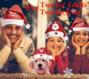 Chic.Yumi Santa Hat Family 4-Pack for $9 + free shipping