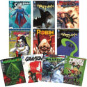 DC Comic Book Superhero 10-Pack for $5 + free shipping