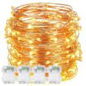 4 DecorNova 10-Foot 60 String Light Sets for $10 + free shipping w/ Prime