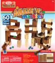 Ideal Amaze 'N' Marbles Wood 60-Piece Set for $22 + free shipping w/ Prime