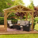 Yardistry Avery Pavilion from $1399 + free shipping