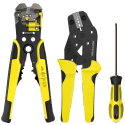 Meterk Wire Stripper and Crimping Tool Kit for $26 + free shipping