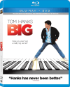 Big: 25th Anniversary Edition Blu-ray / DVD for $4 + free shipping