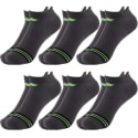 Sof Sole Men's No-Show Cushion Socks 6-Pack for $10 + free shipping