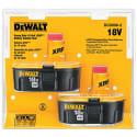 2 DeWalt 18V Nickel Cadmium Tool Batteries for $94 + free shipping