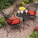 BHG Court 3-Piece Outdoor Bistro Set for $149 + free shipping