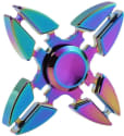 Quad-Leaf Rainbow Fidget Spinner for $9 + free shipping
