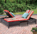 Mainstays Outdoor Double Chaise Lounger for $219 + free shipping