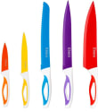 Ebaco 10-Piece Colorful Knife Set for $7 + free shipping w/ Prime