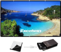 "Excelvan 120"" Portable Projector Screen for $22 + free shipping w/ Prime"