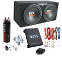 "MTX 12"" Dual Loaded 1,200W Subwoofer Box for $230 + free shipping"