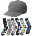 Totes Isotoner Men's Wool Cap w/ Socks 3-Pack for $10 + free shipping
