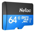 Netac 64GB P500 Class 10 Micro SD Card for $9 + free s&h from China