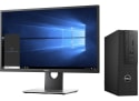 """Dell Kaby Lake i7 Quad SFF PC w/ 24"""" Display for $1,149 + free shipping"""