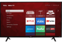 """TCL 43"""" 4K HDR LED UHD Roku Smart TV for $230 for members + free shipping"""
