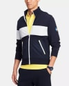 Tommy Hilfiger Men's Zip Up Mock Neck Sweater for $44 + pickup at Macy's