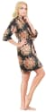 Mr & Mrs Right Women's Satin Dressing Gown for $8 + free shipping w/ Prime