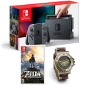 Nintendo Switch Zelda: BotW Bundles: preorders from $420 + free shipping