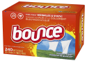 Bounce 240-Count Dryer Sheets Box for $6 w/ Prime + free shipping