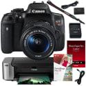 Canon Rebel T6i DSLR Kit, $20 eBay GC for $450 after rebate + free shipping