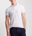 Aeropostale Men's Solid Pique Polo Shirt for $4 + $5 s&h