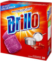 Brillo Steel Wool Soap Pads 30-Pack for $4 + pickup at Walmart