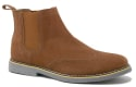 Alpine Swiss Men's Chelsea Suede Dress Boots for $30 + free shipping