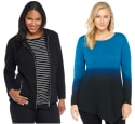 The Limited Plus-Size Clearance Styles for $12 + free shipping