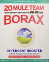 20 Mule Team Borax Detergent Booster 6-Pack for $18 w/Prime + free shipping