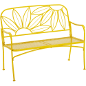 Mainstays Hello Sunny Outdoor Patio Bench for $61 + free shipping