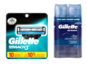 10 Gillette Mach3 Blades w/ 2 Shave Gels for $21 + pickup at Walmart