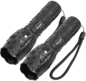 iCoostor Tactical Flashlight 2-Pack for $9 + free shipping w/ Prime
