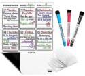 Magnetic Weekly Dry Erase Board Calendar for $10 + free shipping