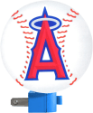 Los Angeles Angels Night Light for $1 + pickup at Walmart