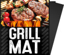 3 G & F Non-Stick BBQ Grill Mats for $4 w/ $25 + free shipping