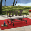 Better Homes and Gardens Glider Bench for $85 + free shipping