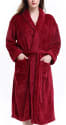 David Archy Women's Micro Fleece Robe for $28 + free shipping